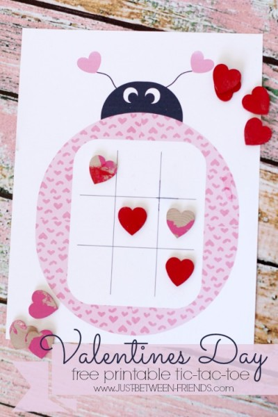 picture regarding Tic Tac Toe Valentine Printable named Valentines Working day Tic-Tac-Toe No cost Printable - Simply just Jonie