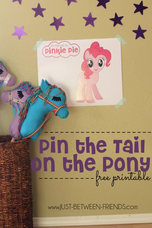 Pin The Tail On The Pony Just Jonie