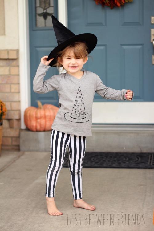 Halloween T Shirt Ideas Diy.Diy Halloween T Shirt I Put A Spell On You Just Jonie