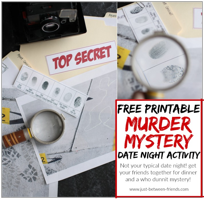 Murder Mystery Dinner Sheet Free: Free Printable - Just Jonie